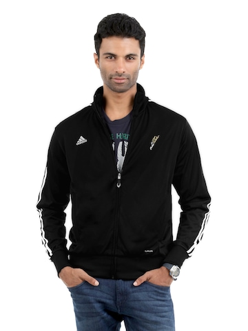 Adidas Men Black Jacket