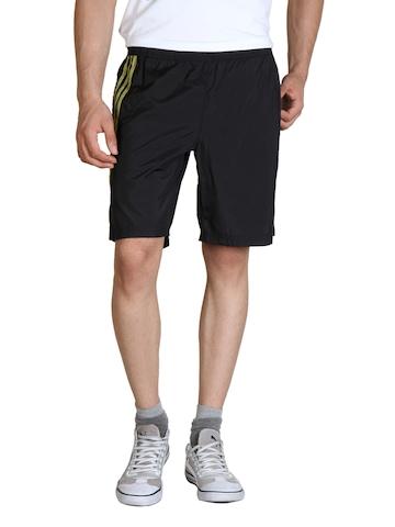 Adidas Men Black Shorts