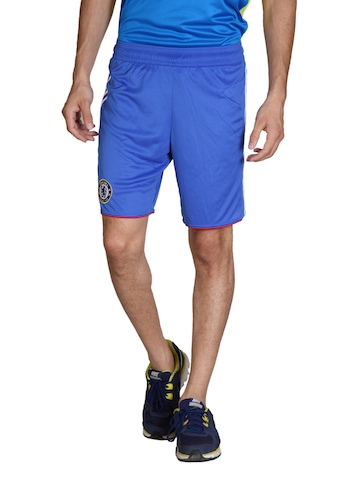 Adidas Men Blue Shorts