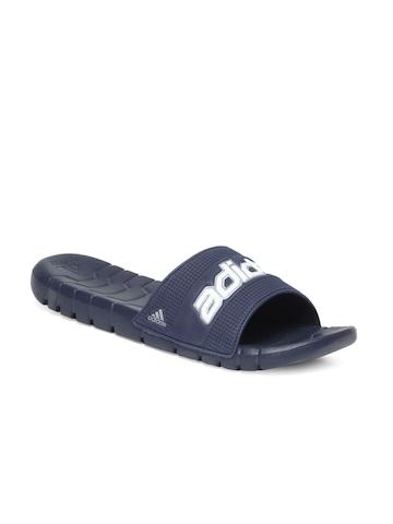 Adidas Men Navy Blue Flip Flops