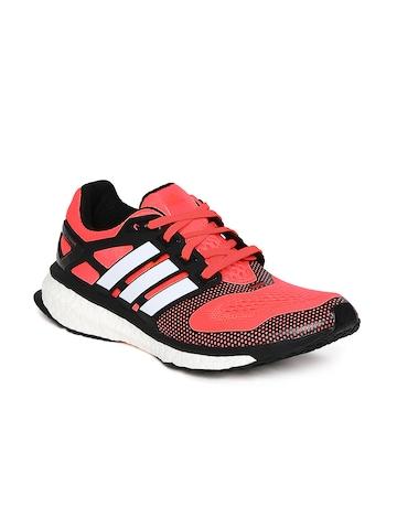 Adidas Men Neon Orange Energy Boost 2 ESM Running Shoes