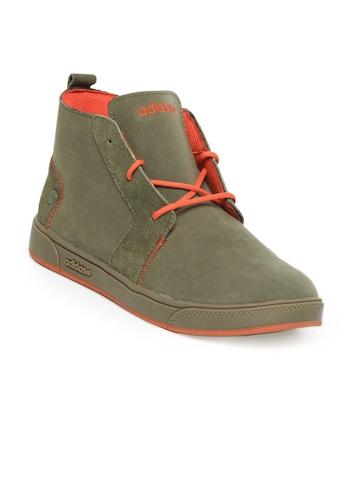 Adidas Men Olive Shoes