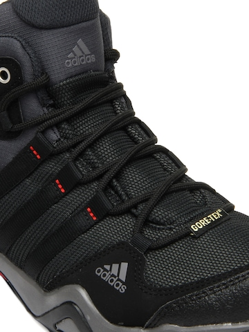 Grey & Black AX2 Mid GTX Sports Shoes-men athletic and outdoor shoes