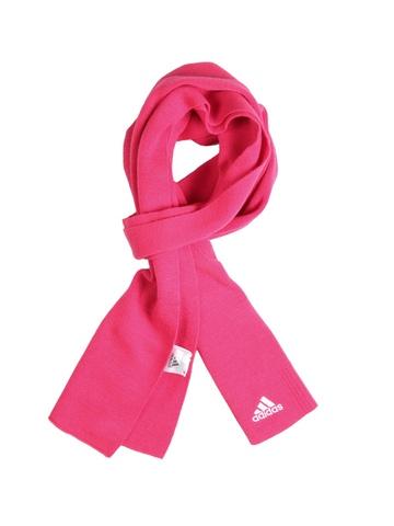 Adidas Unisex Pink Scarvf