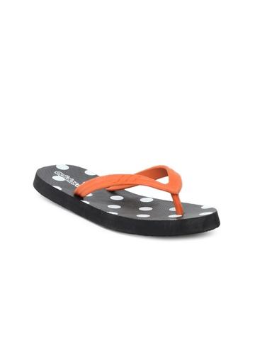 Adidas Women Black Flip Flops