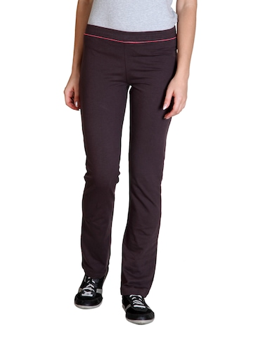 Adidas Women Brown Track Pants