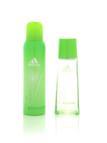 Adidas Women Fruity Rhythm Perfume & Deo Set