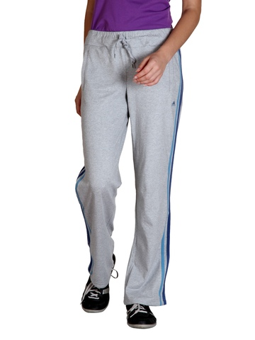 Adidas Women Grey Track Pants