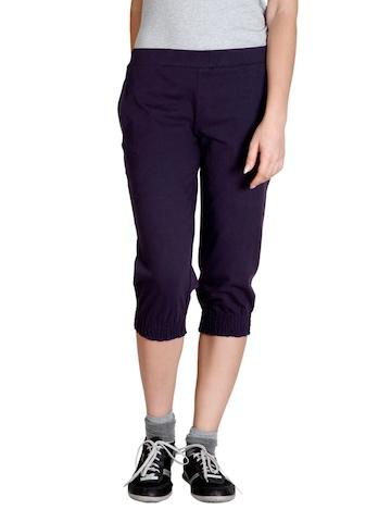 Adidas Women Purple Capris