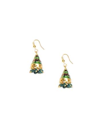 Adrika Green Earrings