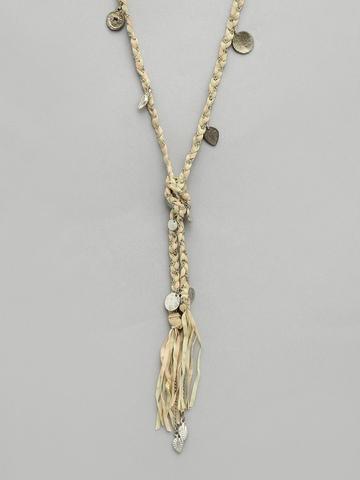 Adrika Women Beige & Pink Necklace
