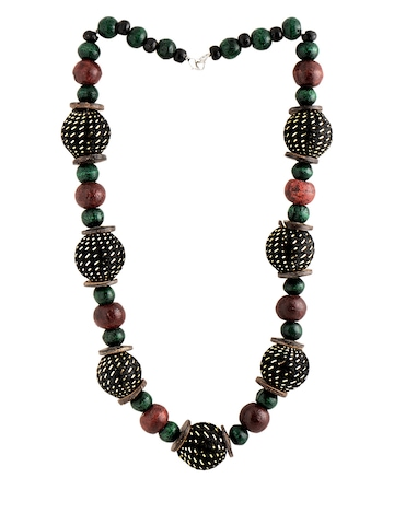 Adrika Women Black Jewellery Set