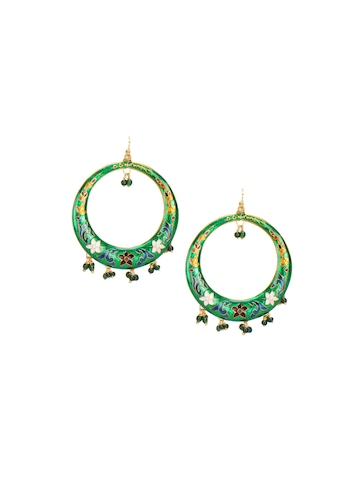 Adrika Women Green Earrings