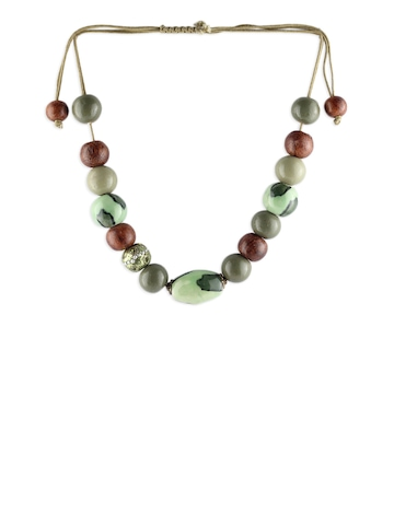Adrika Women Green Necklace