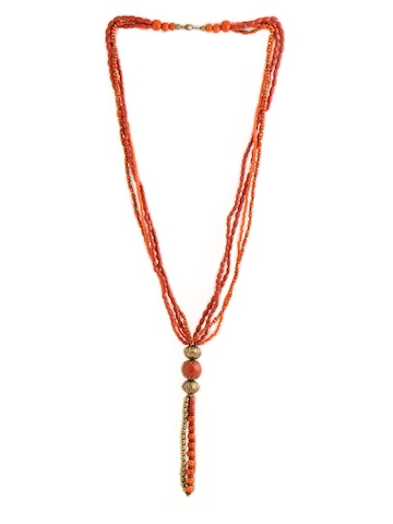 Adrika Women Red Necklace