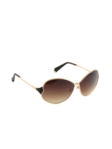 Allen Solly Women Thin Gold Frame Sunglasses