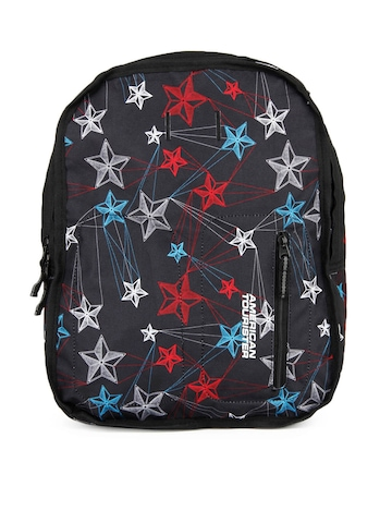 American Tourister Black Reversible Backpack
