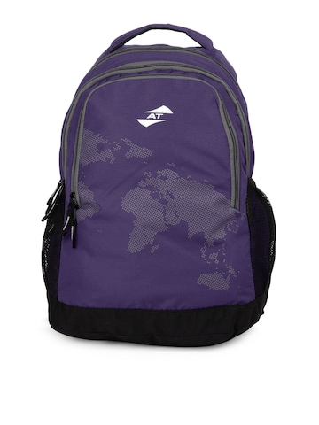 American Tourister Unisex At Cyber C1 Purple Backpack