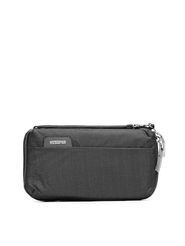 American Tourister Unisex Black Passport Holder