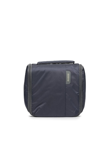 American Tourister Unisex Blue Toiletry Kit Pouch