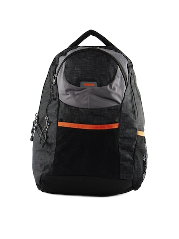 American Tourister Unisex Buzz Black Backpack