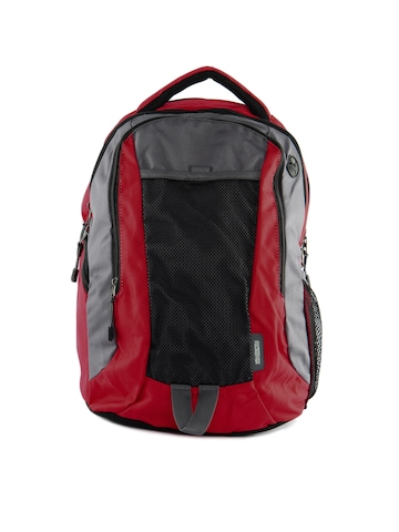 American Tourister Unisex Buzz Red Backpack
