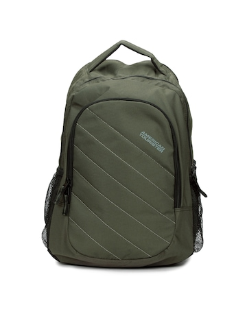 American Tourister Unisex Olive Backpack