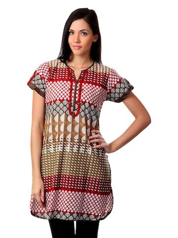 Aneri Women Brown Tunic