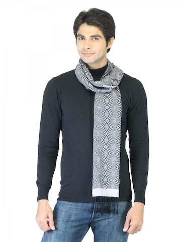 Arrow Men Grey Scarf