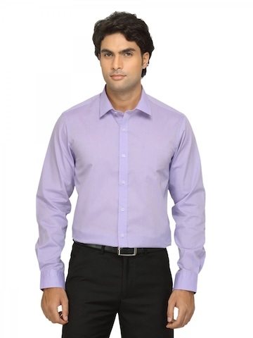Arrow New York Men Lavender Slim Fit Shirt