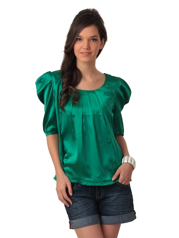 Arrow Woman Green Top