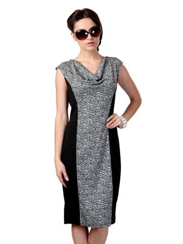 Avirate Black & White Dress