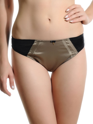Avirate Khaki and Black Brief