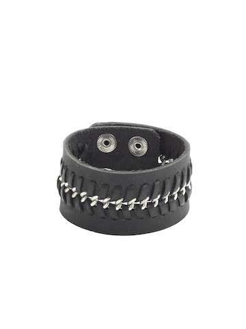 Ayesha Men Black Knitted Cuff
