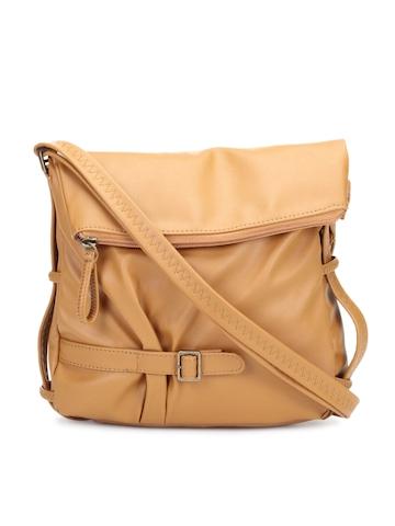 Baggit Women Camel Brown Sling Bag