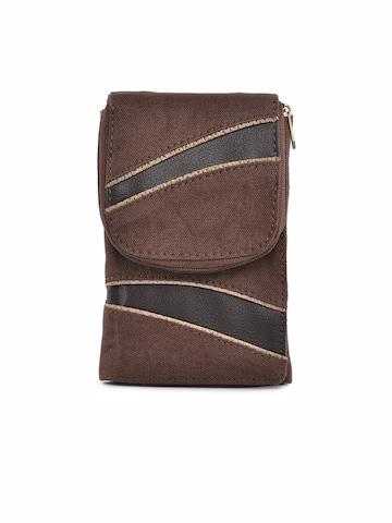 Baggit Women Parinacrush Brown Wallet