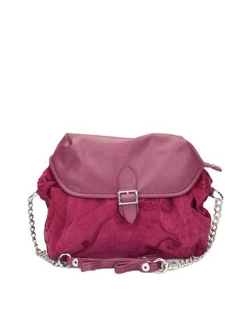 Baggit Women Pink Sling Bag