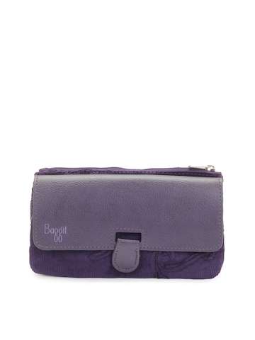 Baggit Women Purple Purse