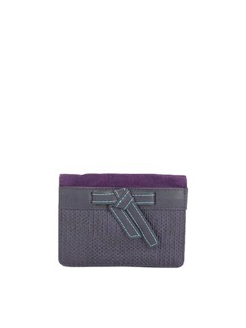 Baggit Women Purple Wallet