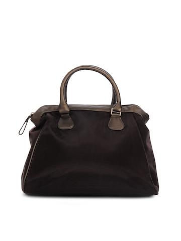 Baggit Women Roxy Net Brown Handbag