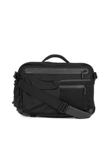 Belkin Unisex Black Dash Laptop 16 Toploader Handbag
