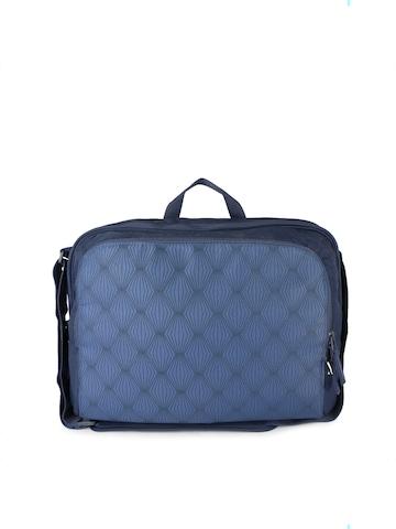 Belkin Unisex Simple Messenger Blue Handbags