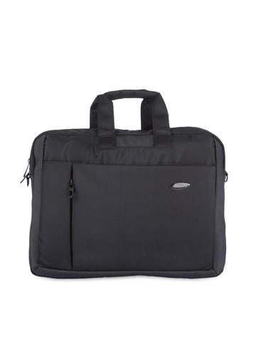 Bendly Unisex Black Laptop Bag at myntra