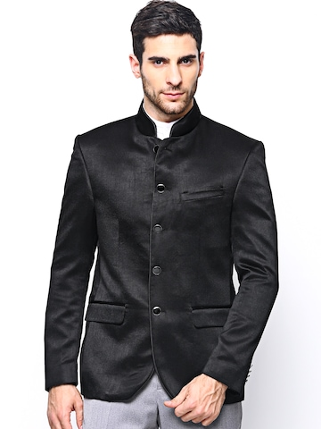 Blackberrys Men Black Jacket at myntra