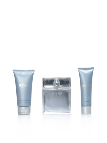 Boss Men Perfume, After Shave Balm and Shower Gel Set