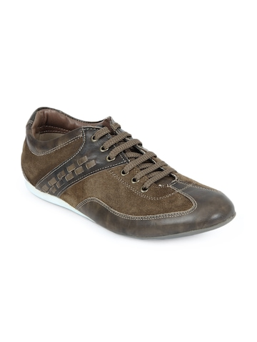 Buckaroo Jefe Men Olive Casual Shoes