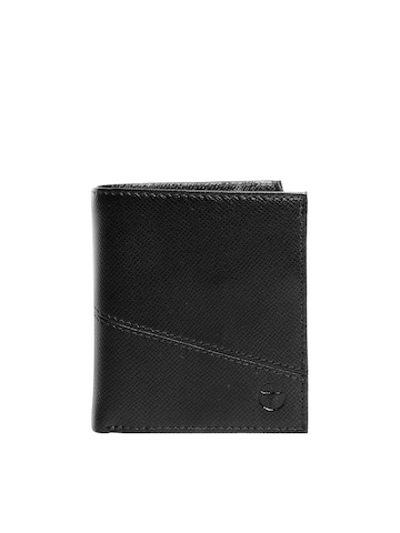 Bulchee Men Ufficio Black Wallet