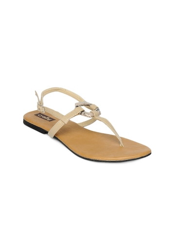 Cally Women Beige Sandals