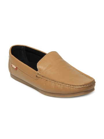 Carlton London Men Light Brown Loafers