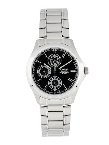 a9b7183ea70 Casio Enticer Men Silver Analogue Watches A220 MTP 1246D 1AVDF CASIO  Watches available at Myntra for